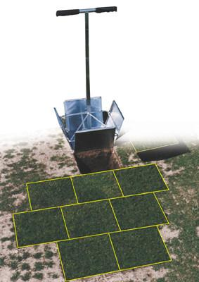 "TurfDoctor 9"" zodensteker 23x23 cm"
