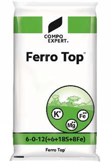 FerroTop 6-0-12+6MgO+8Fe 25kg