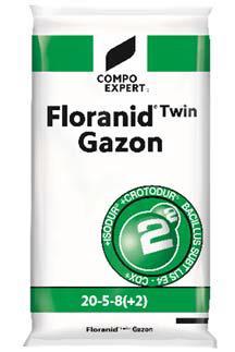 Floranid ®Twin Gazon 20-5-8+2MgO 20kg