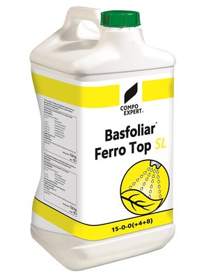 Basfoliar Ferro Top SL 15-0-0+4S+8Fe  10 liter