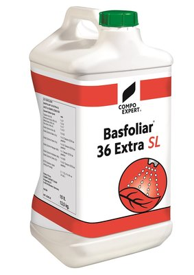 BasFoliar 36 Extra SL 27-0-0+3MgO+Sp 10 liter