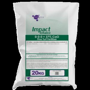 Impact Enhance Calciumsulfaat/gips (fijn granulaat)   20 kg