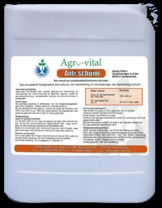 Antischuim 4x5 liter